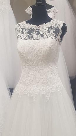 Suknia Ślubna Biały Raj 40