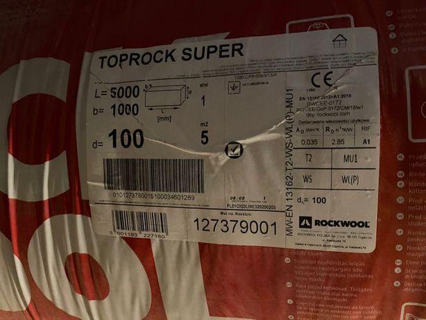 Wełna mineralna Rockwool Poprock Super 10 cm
