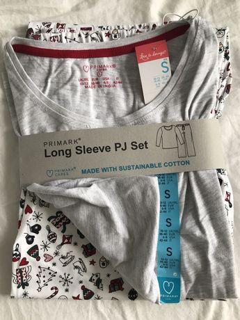 Пижама женская Primark S подарок новогодний Примарк
