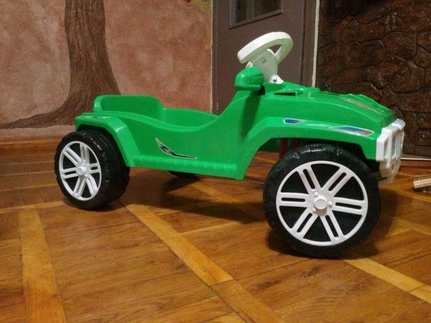 Детская машинка на педалях толокар орион карт