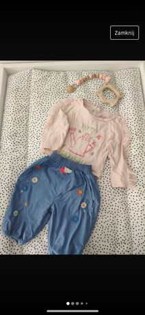 Zestaw bluzeczka i spodenki roz. 68