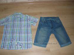 ПРОДАМ мальчиковую рубашку и шорты ТМ COOL CLUB (Смик Польша)