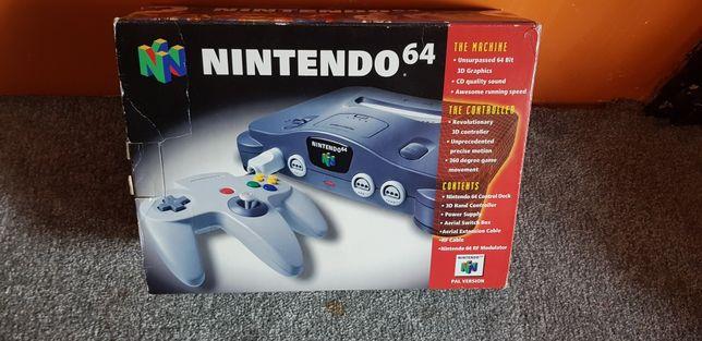 Konsola Nintendo 64 n64 pudełko