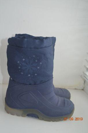 зимние сапоги, ботинки, резиновые сапоги, 23-24, 15, зимові чоботи, че