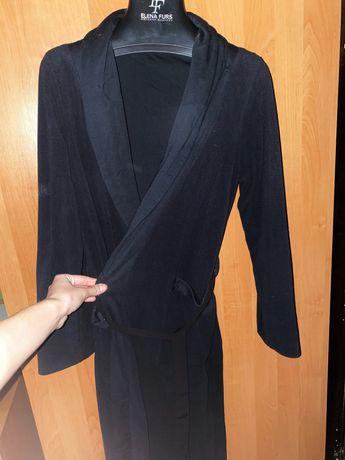 Халатик Calvin Klein Халат чёрный на S