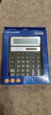 Калькулятор новый CITIZEN SDC-888XBK, черный .