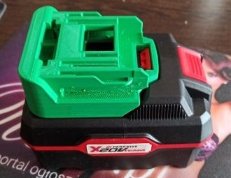 Adapter bateria Parkside -> Makita 18V