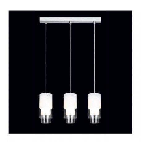 lampa wisząca Christian szkło + metal (chrom)