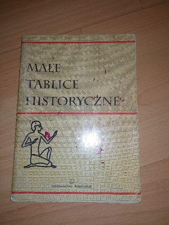 małe tablice historyczne