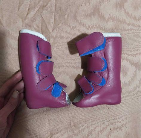 Ортопедические ботинки для младенца, ребенка, обувь, ортез
