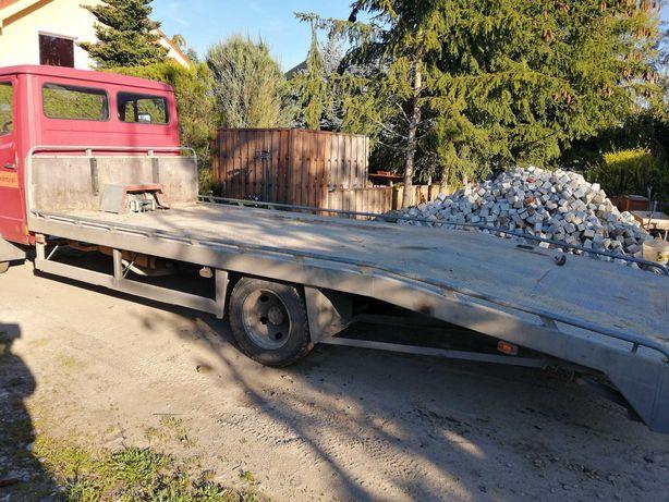 Laweta - najazd Mercedes 811 D