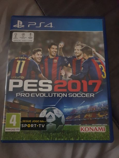 PES 2017 playstation 4
