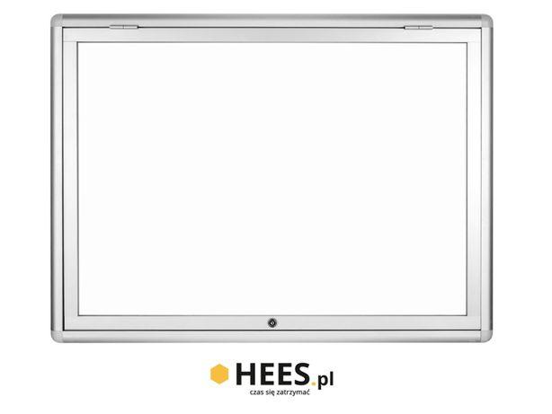 Gablota informacyjna - ogłoszeniowa wisząca GB-1 120x74cm 10xA4 - HEES