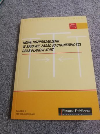 Nowe rozporządzenie w sprawie zasad rachunkowości planow kont