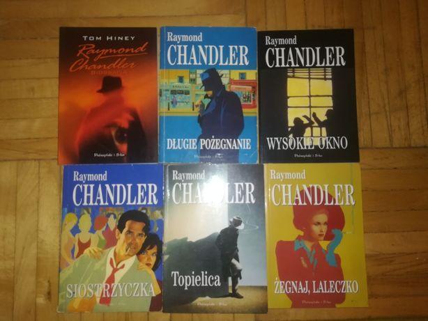 R.Chandler biografia,Długie pożegnanie,Siostrzyczka,Wysokie okno...