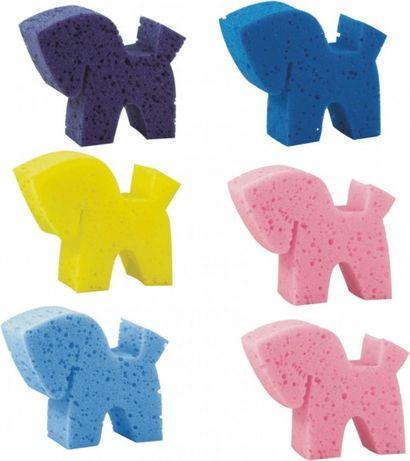 Gąbka w kształcie konia różne kolory 6szt