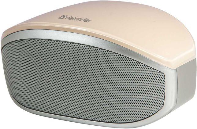 Колонка акустическая система Defender розовый портативная Bluetooth