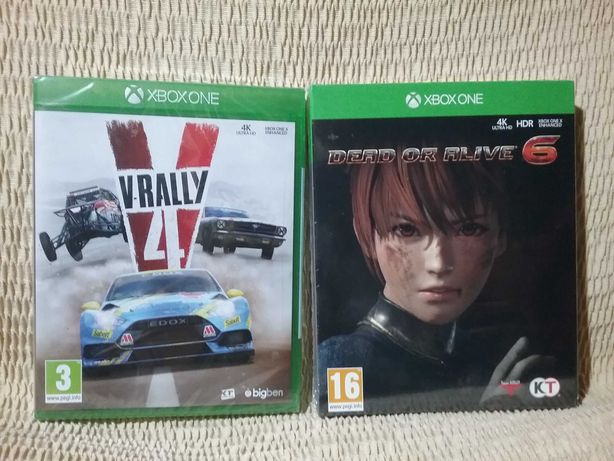 V-rally 4 Dead or Alive 6 Xbox One X 4K Series S selados