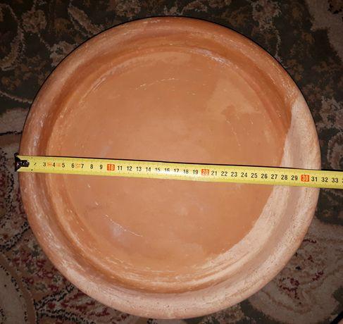 Duża podstawka ceramiczna - 31,5 cm średnicy