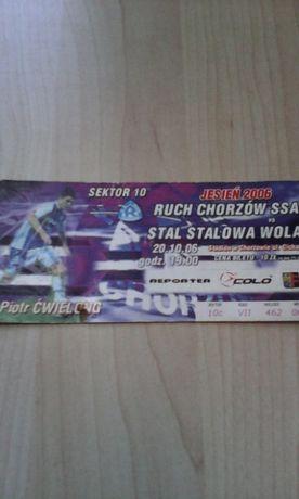 Ruch Chorzów -Stal Stalowa Wola 20.10.2006