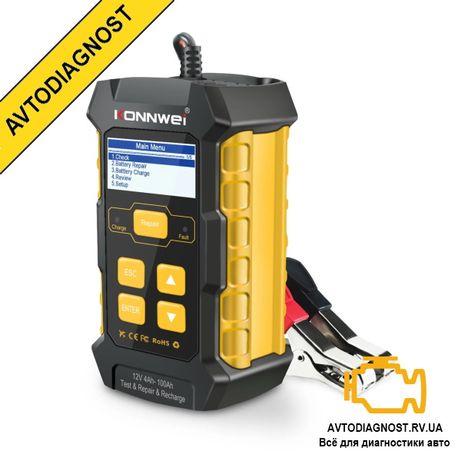 Зарядное устройство и тестер АКБ Konnwei KW510 (2 в 1)
