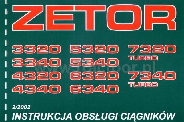 Zetor 3320, 3340, 4320, 4340, 5320, 5340, 6340, 7320, 7340 kat, instru