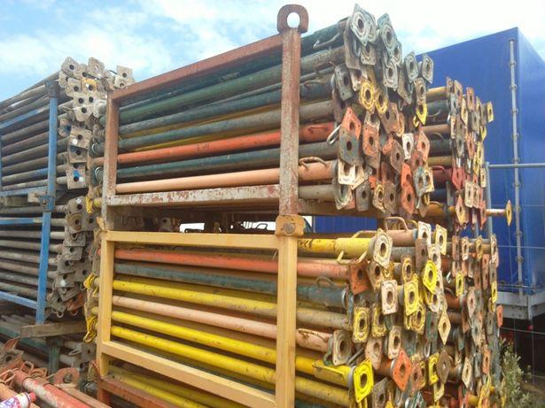 Stemple podpory budowlane metalowe regulowane 3m szalunki stropowe