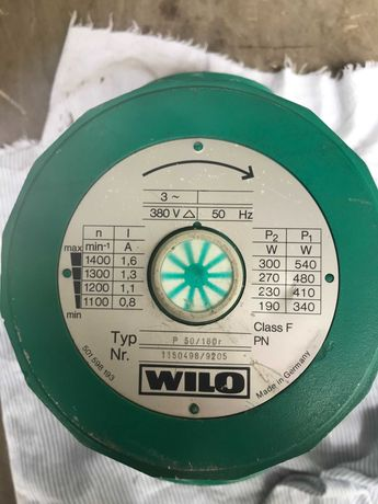 Pompa Obiegowa Wilo P50/160r