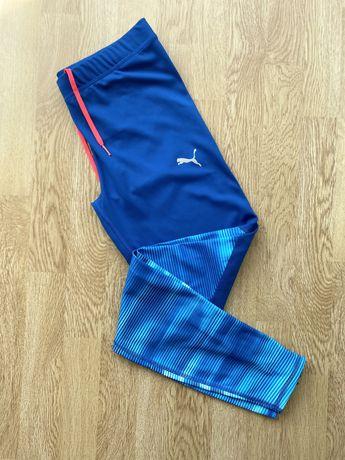 Спортивные лосины Puma Dry Cell синие оригинал L леггинсы