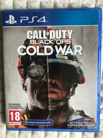 Call of Duty Black Ops Cold War PS4 PS5 PL - Idealny!