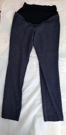 Eleganckie granatowe spodnie ciążowe w rozmiarze 40/L