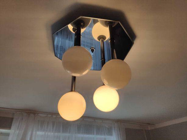 Piękny żyrandol lampa kule lustro ozdoba salonu pokoju ! 25% ceny..