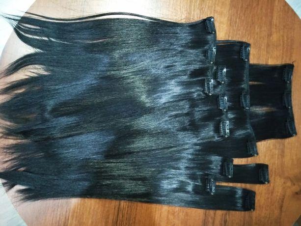 Продам волосы на заколках / трессы / волосы для холодного наращивания