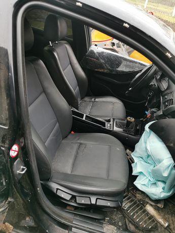 Салон, плукожа, кожа, крісла, дверні карти, комплект BMW e46 седан