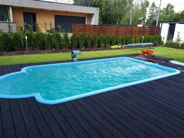 basen ogrodowy BASEN ROMAN 7,0 x 3,0 x 1,50 MOŻLIWY KOPMLEKSOWY