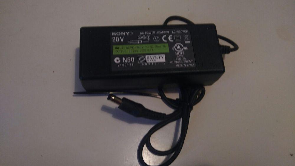 Zasilacz ładowarka do laptopów i urządzeń SONY AC-S20RDP 20V Gorzów Wielkopolski - image 1