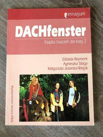 DACHfenster - książka ćwiczeń język niemiecki, w dobrym stanie.