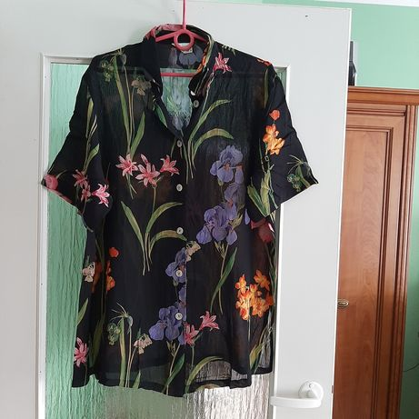 Bluzka koszula 42/44 Tunika