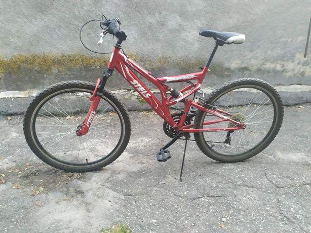 Велосипед горный двухподвес STELS GHOST колеса 26