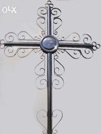 Крест могильный нержавейка