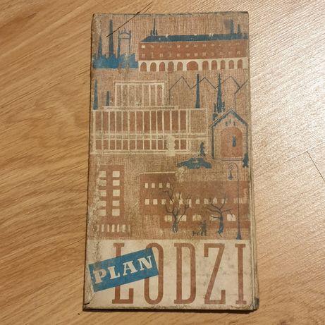 Mapa miasta Łódz