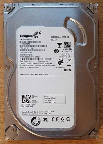 Продаю жесткий диск HDD Seagate 3,5 SATA 250 Гб, 7200 RPM.