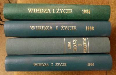 Wiedza i Życie, 1998-99 kompletne roczniki w twardej oprawie