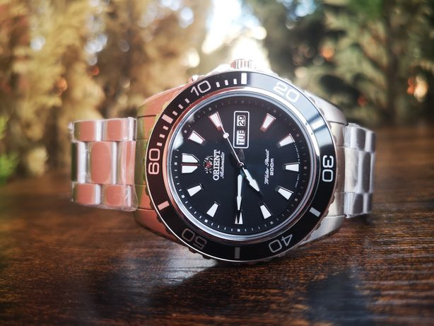 Nowy zegarek automatyczny Orient FEM75001BW Big Mako, 200m, gwarancja