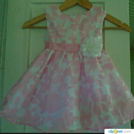 Нарядное платье на 1-3 года