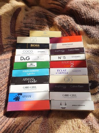 ОРИГІНАЛЬНІ Парфуми Dior, Chanel, CK, Lacoste, Armani, Hogo Boss та ін