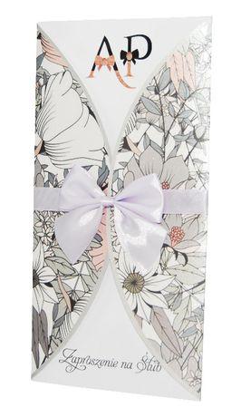 Zaproszenia ślubne - kolekcja FLOWERS 11 + koperta