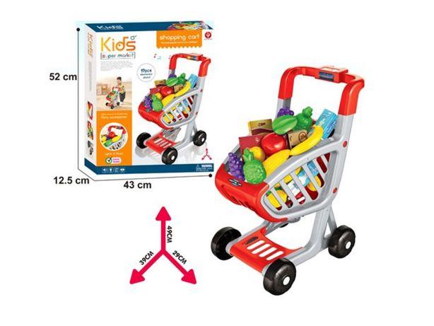 WÓZEK SKLEPOWY na zakupy dla dzieci