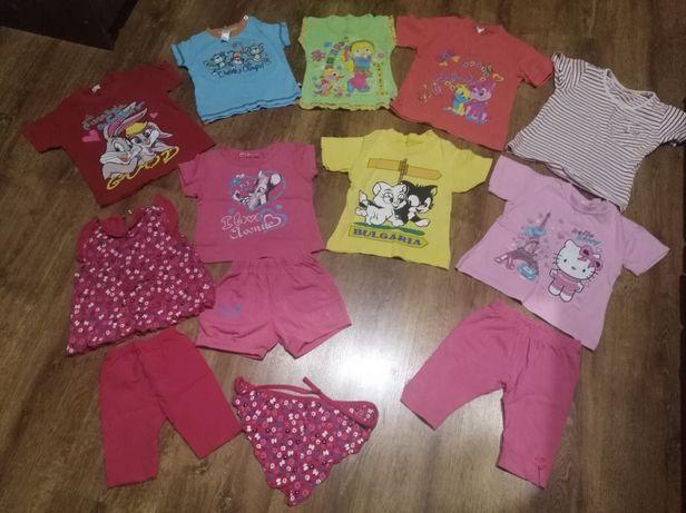 Нарядная футболка, майка, кофта, лосины, шорты