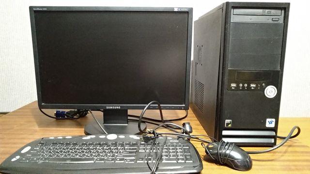 Продам компьютер, монитор,системный блок